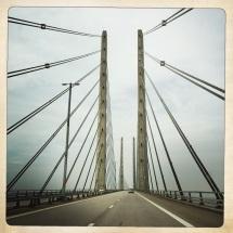 il ponte che collega Malmo alla Danimarca