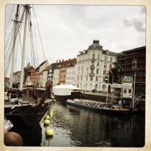 Nyhavn e le sue casette