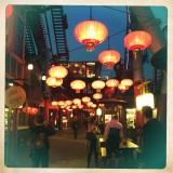 lanterne cinesi a Tivoli