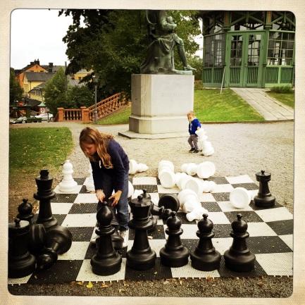 si gioca anche a scacchi allo Scandic hotel