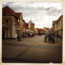 Skagen, la via principale