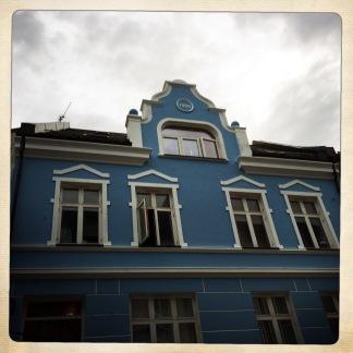 la facciata art nouveau di un palazzo di Ålesund