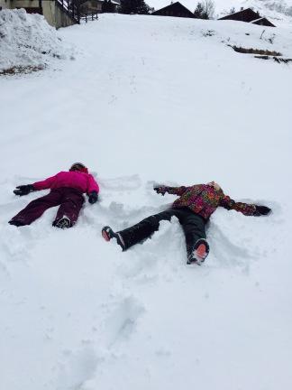 stelline sulla neve