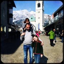quadretto di famiglia in corso Italia